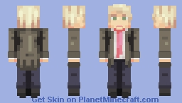 Donald Trump Minecraft Skin