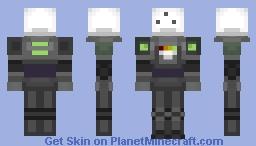 MOTHER 4- Powerful Robot Minecraft Skin