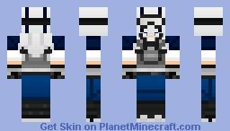 Urban Warrior Minecraft Skin
