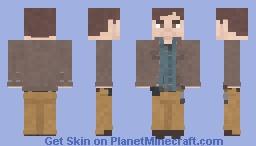 Gareth [The Walking Dead] [4x16] Minecraft Skin