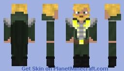 Master of Blades Minecraft Skin