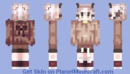 ♡ Owly Owl ♡ SmolMai's Re Shade Contest ♡ Entry ♡ Chicken Pot Poppy Reel! ♡ Minecraft Skin