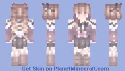purple⠀wonderland Minecraft Skin