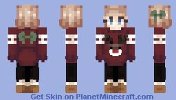 ~ Chubby Reindeers ~ 3 more versions in desc ~ Minecraft Skin