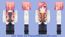 Student-Sized Roses Minecraft Skin