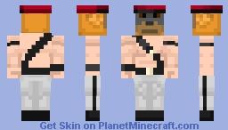Staff-Sargent RUSSELL Minecraft Skin
