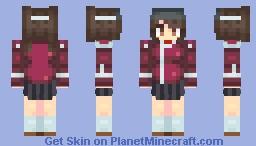 Ryuujou-class Light Carrier - Ryuujou Minecraft Skin