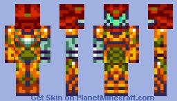Zero Suit Seebass Minecraft Skin