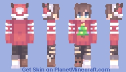 Too early for xmas - OC Liam Minecraft Skin
