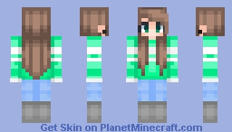 Bored (╯°□°)╯︵ ┻━┻ | Female | 𝐂𝐑𝐀𝐅𝐓𝐘 Minecraft Skin