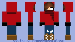 HerobrineSister (Autumn Mode) Minecraft Skin