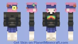 Magic/Blue Mushroom Chibi | Minto~ Minecraft Skin