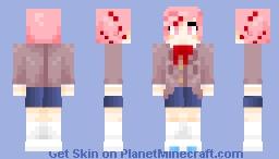 Natsuki - Doki Doki Literature Club Minecraft Skin