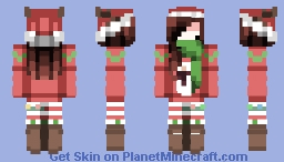 HAVE A CHIBI MERRY CHRISTMAAASSS! Minecraft Skin
