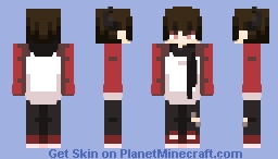 Horned boy (Requested) Minecraft Skin