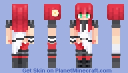 Popola ✰ Nier Automata Minecraft Skin