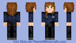 ...and one more time; B.Crusher for all fans! Minecraft Skin