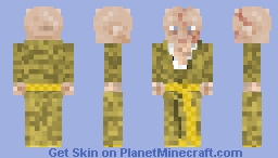 Supreme Leader Snoke STAR WARS Minecraft Skin
