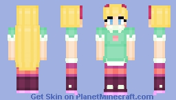 Star Butterfly - Star vs. the Forces of Evil Minecraft Skin