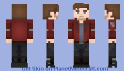 StarLord (Peter Quill) - Guardians of the Galaxy Minecraft Skin