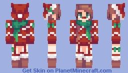 Christmas persona Minecraft Skin