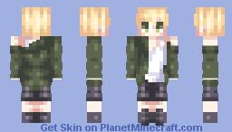 Jimin ~ BTS (Mic Drop) Minecraft Skin