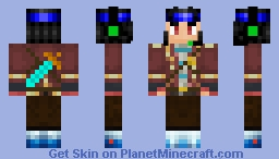Diamond Dj Minecraft Skin