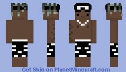 "XXXTentacion ""If you don't got no goggles your not going to get *******"" Minecraft Skin"