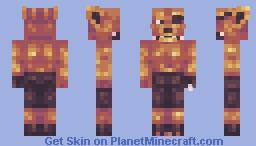 I Love FNAF Minecraft Skin