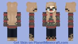 Jessie Christmas Minecraft Skin