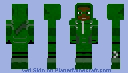 John Diggle as The Arrow | Request Minecraft