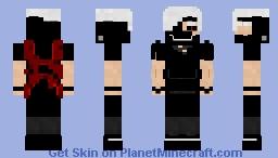 Ken Kaneki | Tokyo Ghoul Minecraft Skin