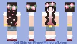 Spring girl Minecraft Skin