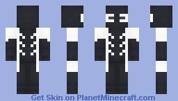 Deadpool (Back in Black) Minecraft Skin