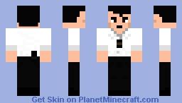 Detective Murilo (Simulacra) Minecraft Skin
