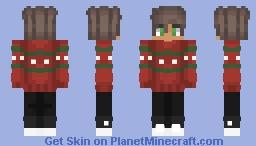 Din Christmas Minecraft Skin