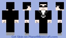 Herman Hatmen Minecraft Skin
