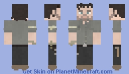 Rick Grimes | The Walking Dead | 8x01 Minecraft Skin