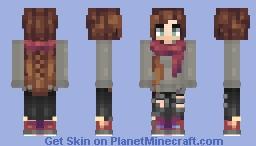 Autumn Girl Minecraft