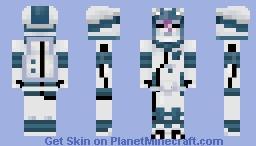 Ultra Recon Squad Dulse - Pokémon Ultra Sun and Ultra Moon Minecraft Skin
