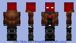 Red Hood | Outlaws (Rebirth) Minecraft Skin