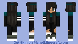 Leah ~ OC    ᑕOᑕOᗩᑭOᑭ Minecraft Skin