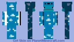 Sky Minecraft Skin