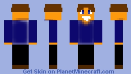 George the Human Robot (George & Friends) Minecraft Skin