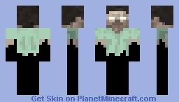 The Ghost of Herobrine Minecraft Skin