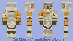 Commander Gregor STAR WARS III Minecraft Skin
