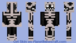 Hollow of Bleach Minecraft Skin