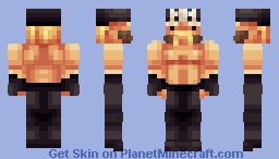 Hollywood Hulk Hogan Test Minecraft Skin