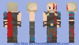 Gladiator Thor(MCU) Minecraft Skin