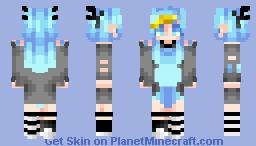 Kyurem (Pokemon) [Own style] Minecraft Skin
